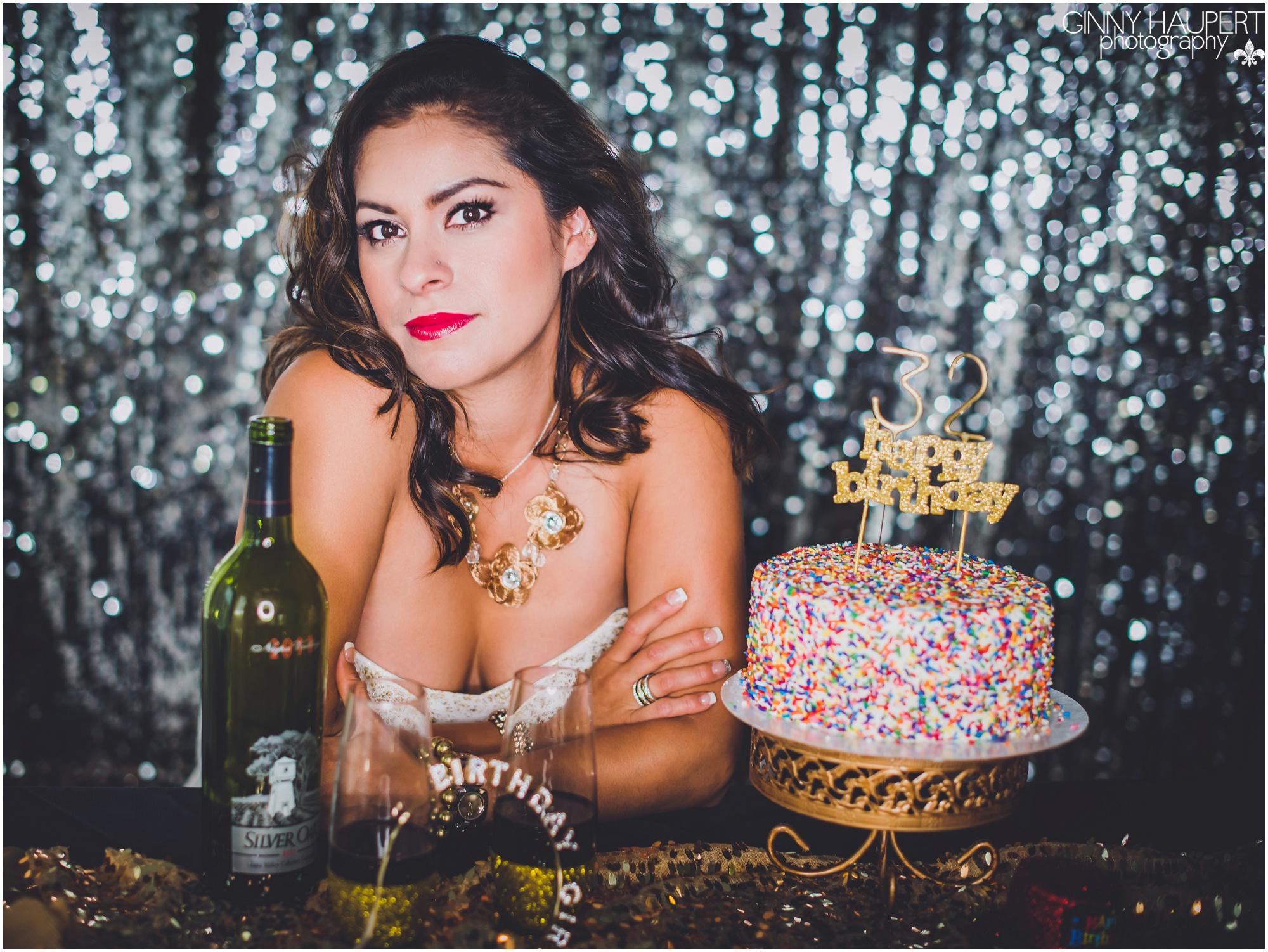 Adult Birthday Cake Smash Denver Colorado