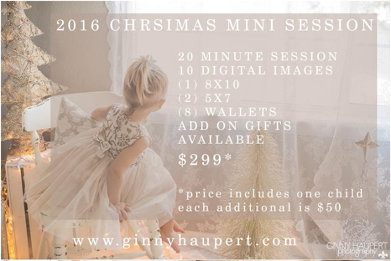 2016 DENVER CHRISTMAS MINI SESSIONS
